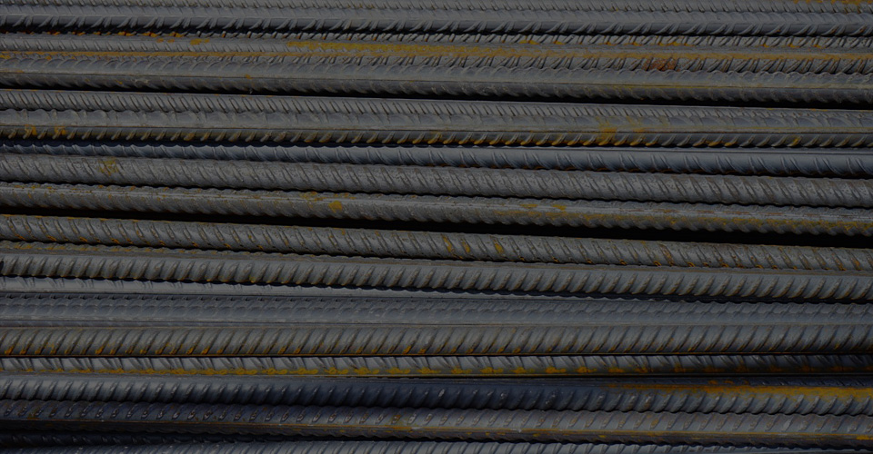steel rods - building materials
