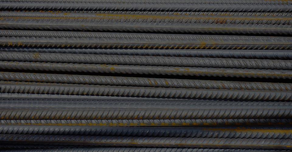 steel rods - building materials