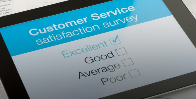 customer-satisfaction on ipad
