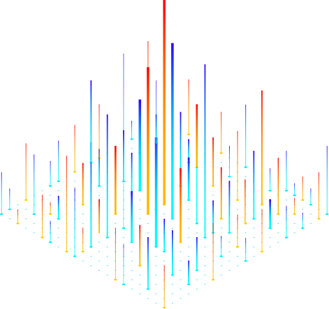 color vertical lines - analytics