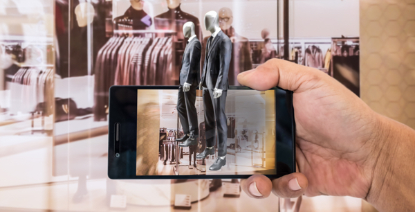 augmented reality mobile for shop - retail continuity