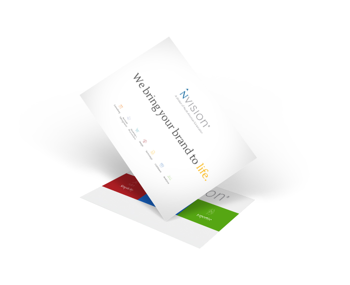 NVISION postcard - direct mail insights