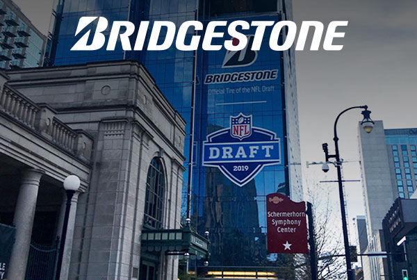 NFL Draft Building Graphics