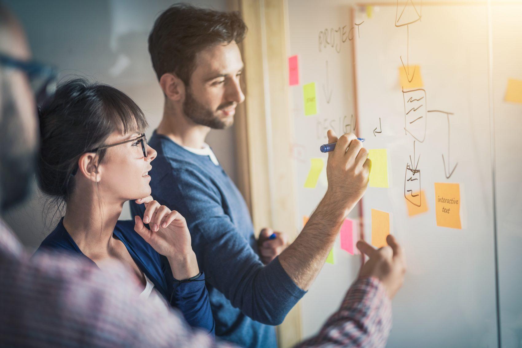 marketers whiteboarding-4 steps efficient marketing
